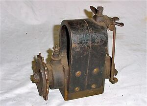 Vtg Antique Bosch Du1 Chain Drive Magneto Hit Miss Gas Engine Tractor Boat Motor