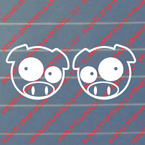 Rally Pig Decal Tuner Jdm Import Sticker