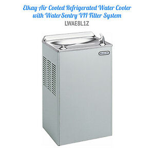 Elkay Lwae8l1z Air Cooled Refrigerated Water Cooler New 1353 Retail