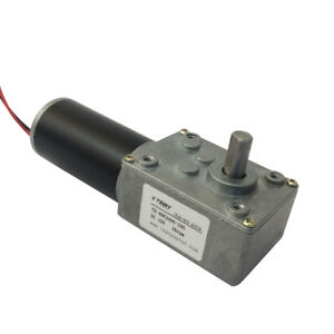 Dc Worm Gear Motor 12vdc Motor Of Miniature 16rpm Motor Robot Motor Right Angle