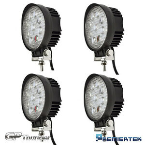 4x 27w Cree Spot Round Led Work Light Offroad Fog Driving Drl Suv Atv Truck 4wd