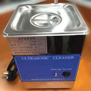 New Professional Stainless Steel Ultrasonic Cleaner For Metal Glass Jewelry 220v