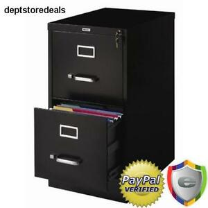 Vertical File Cabinet Drawer Letter Office Lock Full Suspension Desk Storage