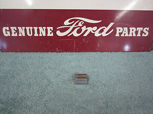 1955 1956 Ford Mercury Convertible Rear Deck Stainless Trim Joint Cover