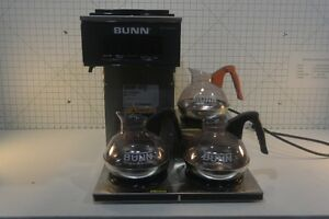 Bunn Commercial Coffe Maker Pour Over Brewer Model Vp17 3 3l Sst Complete