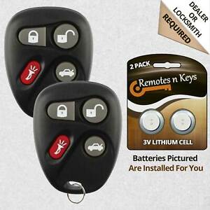 2 New Replacement Keyless Entry Remote Car Key Fob Transmitter For Koblear1xt