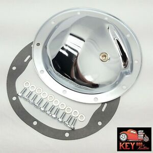10 Bolt Chrome Differential Rear End Cover Chevy Gm 8 2 Camaro Chevelle C10