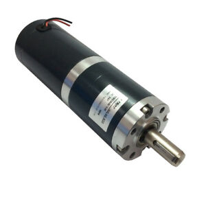 50mm Diameter 24 Volt Electric Dc Planetary Gear Motor With 6rpm 12mm Out Shaft