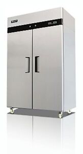 Migali C 2r Commercial Two Door Refrigerator Reach In 49 Cu ft Free Shipping