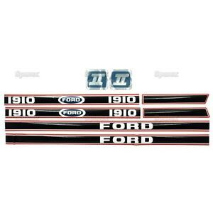 New Ford 1910 Decal Set