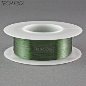 Magnet Wire 34 Gauge Awg Enameled Copper 990 Feet Coil Winding 155 c Green