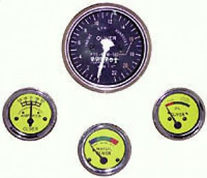 New Oliver Tractor Instrument Gauge Kit Fits Super 55