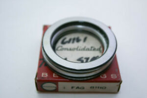 new Old Consolidated Fag Thrust Ball Bearing 81110
