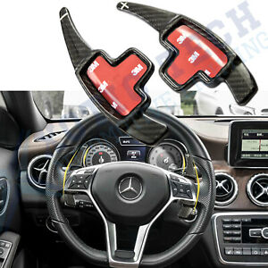 Paddle Shifter Extensions Carbon Fiber Fit 2012 15 Mercedes B C E M Cls Cla