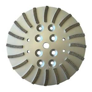10 Concrete Grinding Head Wheel For Edco Blastrac Mk Husqvana Floor Grinders