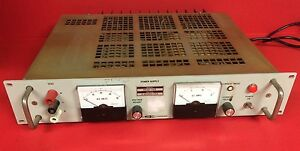 Systron Donner Power Supply Model Rs40 15b 0 40vdc 15a Rating 115vac