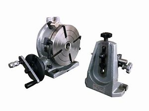 8 H V Rotary Table With The Dividing Plate And The Tailstock