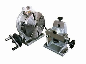 10 Precision Rotary Table Combo With Dividing Plate And Tailstock