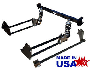 1947 53 Chevy 3100 Truck Rear 4 Link Suspension Kit Rear 4 Bar Conversion