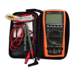 Hot New Vc99 3 6 7 Auto Range Digital Multimeter With Bag Better Fluke Lead Dmm
