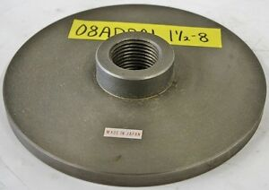 Eron 7 5 8 Chuck Adapter Plate 1 1 2 8 Spindle Mount 1 2 Thickness