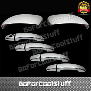 For Ford Focus 13 14 4drs Handle W o Psgkh w o Signal 2pc Chrome Covers