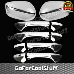 For Honda Accord 2008 2012 4drs Handle W o Pskh mirror 2pc Chrome Covers