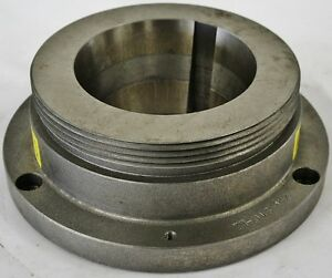 10 Lathe Chuck Adapter Plate L 2 Spindle Mount Taper 1 Thickness Poland