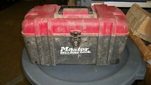 Master Lock Safety Series Lockouts With Tool Box