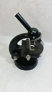 Vintage Carl Zeiss Microscope No 2089784 German Germany Unique Collectible Lab