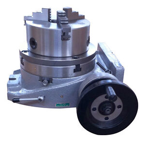 The Adapter And 3 Jaw Chuck For Mounting On A 10 Rotary Table Table Included