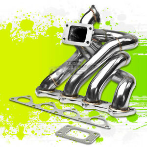 For Honda B Series B16 B18 T3 Top Mount Race Performance Turbo Manifold Exhaust