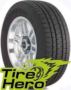 235 70r16 Bridgestone Dueler H L Alenza Plus Blk 106h New Set Of 2
