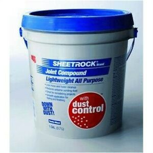 Sheetrock Lightweight All purpose Drywall Joint Compound With Dust Con no 380059
