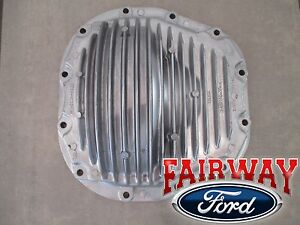 99 Thru 11 Super Duty F250 F350 Oem Ford Aluminum Rear Diff Cover 10 25 Or 10 50