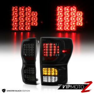 Sinister Black For 07 13 Toyota Tundra Smd Led Reverse Signal Bulb Tail Lights