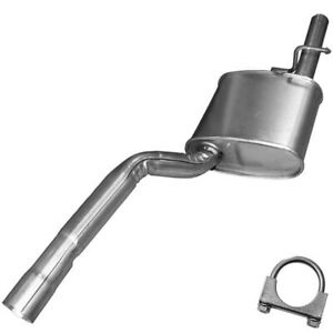 Exhaust Muffler Pipe Fits 2000 2004 Ford Focus Station Wagon 2 0l