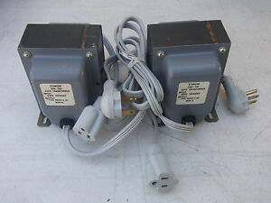 Stancor Gsd 500 Step down Autotransformer 500va 4 3amp 2pcs Free Shipping
