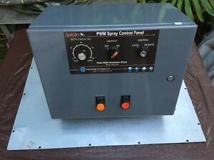 Autojet Pwm Spray Control Panel