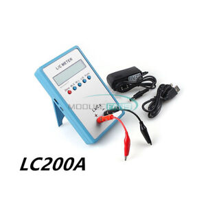 Lc200a Inductance Inductor Capacitance Capacitor L c Multimeter Meter Tester New