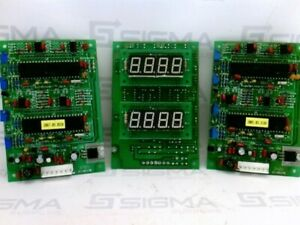 Digital Number Circuit Board Jc 10117b lot Of 3