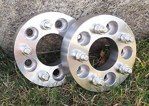 2 Pcs Chevy Gmc Caprice C10 5x5 Wheel Spacers Adapters 1 5 Thick