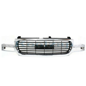 00 06 Yukon Grill Grille Assembly Chrome Frame W Black Insert Gm1200430 19130787