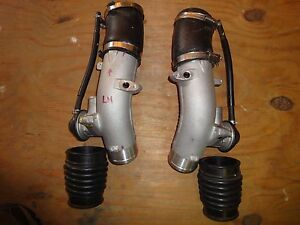 Nissan Gt R 09 14 Pair Of Excellent New Engine Boost Inlets W Blow Offs