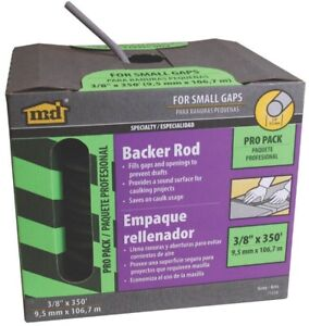 Caulk Backer Rod 3 8in X 350ft no 71550 M D Building Products