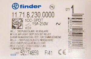 Finder 11 71 8 230 0000 1co Spdt 16 Amp 250v Relay 11 71 8 230 0000