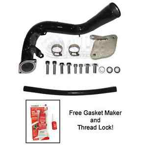 Egr Delete Kit For Chevy Duramax 06 04 2007 6 6 Lbz With High Flow Intake Tube