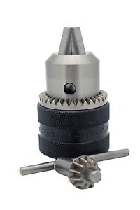 Rohm Prima i Heavy Industrial Drill Chuck With Key 1 32 5 8 Capacity Jt6 Mount