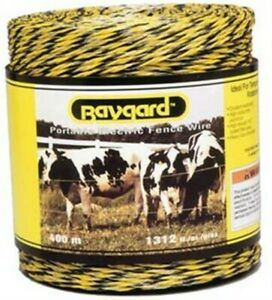 Baygard Portable Electric Fence Wire no 122 Parker Mc Crory Mfg Co