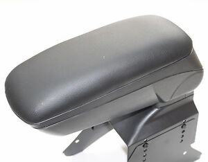 Armrest Centreconsole Universal Black Eco Leatehr Arm Rest Fit Ford Fiesta